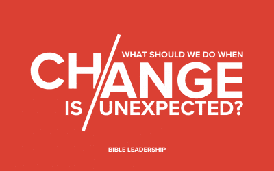 What Should We Do When Change is Unexpected?